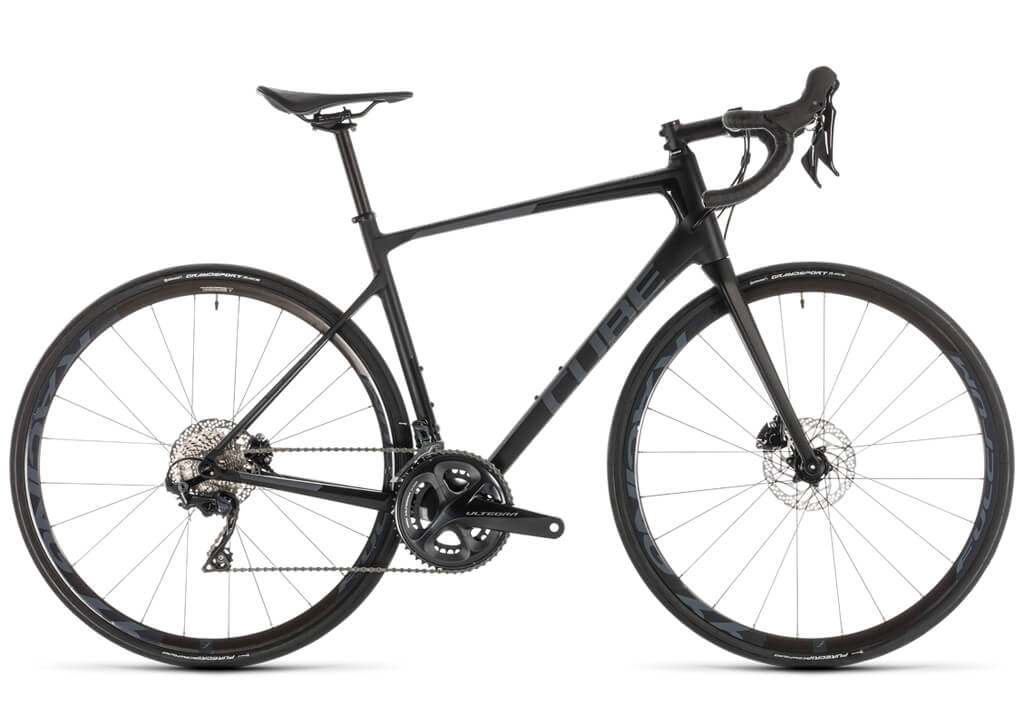 Cube Attain disc bicycle – optimised for performance